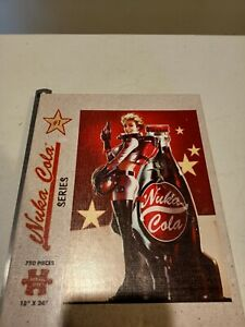 """Fallout Nuka Cola #1 Series USAopoly 750 Pce Puzzle 18"""" x 24"""" Bethesda jigsaw"""