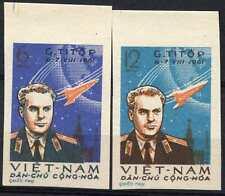 North Vietnam 1961 SG#N185-6, 2nd Manned Space Flight MNH Imperf Set #D90253