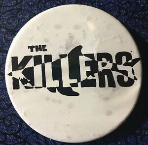 The Killers Promotional Button
