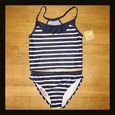 New CRAZY 8 Navy 2-Piece Swimsuit - Girls - Size 7-8