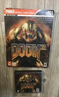 Prima 2004 DOOM 3 PC Game With Official Game Guide 3 Disk GUC J2