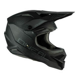 NEW O'Neal 3 Series Helmet | Flat Black 2.0 Coupon Inclusions Scooter Hut