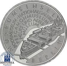 Deutschland 10 Euro Silber 2002 bfr. Museumsinsel Berlin, Münze in Münzkapsel