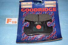 2 plaquettes de frein Goodridge Honda CX 500 VF 1000 TRANSALP 600 VT 1100 CB 900