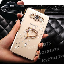 NEW Shine Bling Clear Crystal Gem Diamonds Back TPU soft shell Case Cover Skin B
