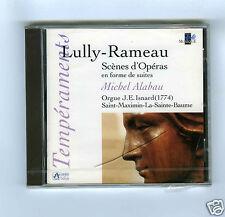 CD NEW LULLY RAMEAU MICHEL ALABAU MICHEL ALABAU (ORGUE)