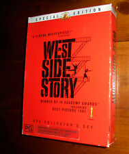 WEST SIDE STORY Special Edition Collectors Set ~ R4 Dvd + Collectable Film Book!