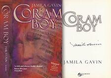 Jamila Gavin - Coram Boy - Signed - Re-issued 1st/1st