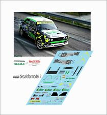 DECALS FIAT 131 ABARTH DIANA RALLY LEGEND 2017