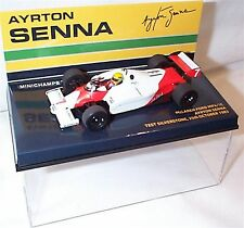 Minichamps 1:43 Ayrton Senna McLaren MP4/1C Test Silverstone 25th Oct 1983 F1