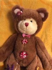 Cookie Teddy Bear By Russ Berrie & Co