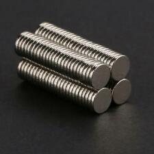 100X N35 Disc Earth Neodymium Super Strong Round  Small Magnets 5mm x 1mm New