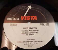 VOICES OF VISTA Show #66 Chico Hamilton / Don Don Rondo with host Willis Conover