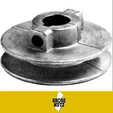 """Chicago Die Cast Single V Groove Pulley A Belt 3-1/2"""" OD X 5/8"""" Bore 350A6"""