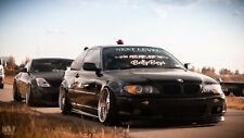 BMW E46 FACELIFT COUPE / CABRIO front overfenders BY MUSK CUSTOMS