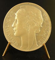Medal Sc Morlon by le Minister Marianne the Republic French Medal