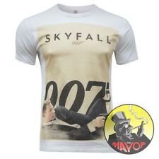 Premium James Bond 007 Skyfall  Inspired Mens Womens Unisex Organic T-Shirt