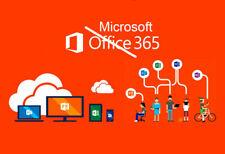 Microsoft 365 / 5 PC o MAC  Suscripción 1 Año  * renovación o cuenta nueva