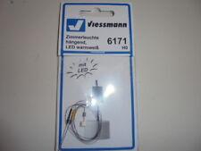 Viessmann 6171 H0 Lumière Suspendu, LED BLANC CHAUD # Neuf Emballage d'ORIGINE #