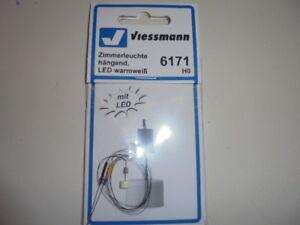 Viessmann 6171 H0 Zimmerleuchte Hanging,LED Warm White # New Original Packaging