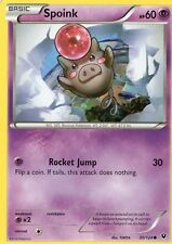 Spoink 30/124  NM  x4  Fates Collide Pokemon TCG Common