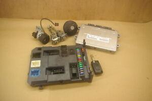 (180 Citroen C3 Mk2 Ecu set 1.1 HFW CMDE 9666909780 HW9666591380 9664983380