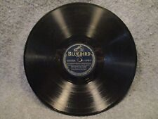 "78 RPM 10"" Record Alvino Rey Blue Shadows & White Gardenias Bluebird B-11448-B"