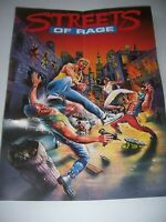 Streets of Rage Poster Official Sega Poster