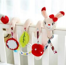 Baby Rattle Toy For Crib/Stroller Hanging Soft Plush Animals Christmas Gift
