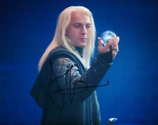 More details for jason issacs signed 10x8 photo harry potter lucius malfoy aftal coa (a)