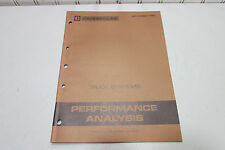 Caterpillar Truck Systems Performance Analysis Manual 1983