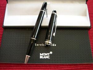 Montblanc Meisterstück Schwarz/Platinum Line  Rollerball *Neu*