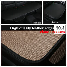 3 x Full Set Car Seat Cover General Cushion Ice Silk For All Seasons Accessories