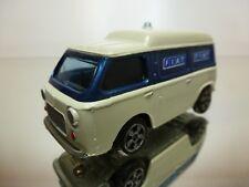 POLITOYS E24 FIAT ACI - WHITE + BLUE 1:43 - ONLY EMPTY BOX