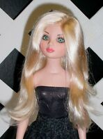 "DOLL Wig, Monique Gold ""Pretty Girl"" Size 5/6  - Light Peach White Blonde"