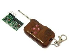 IC 2262 / 2272 4- Channel Wireless Remote Control Kit, RF Transmitter & Receiver