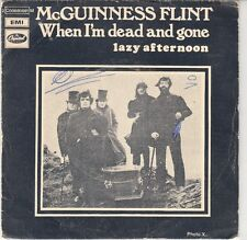 """45 T SP Mc GUINESS FLINT """"WHEN I'M DEAD AND GONE"""""""