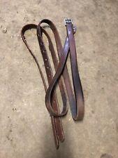 "Flat Stirrup Leathers Brand Unknown - 28"" Long Calfskin"