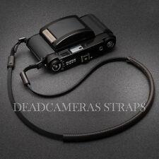 Braun & schwarz Leder Schulter/Umhängeband Fuji GF670, XT-1, X-Pro1, X-E2, GW690