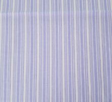 Purple White Stripe BTY MBT Marcus Brothers Textiles 100% Cotton Fabric
