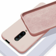 For OnePlus 7T Pro/7 Pro 6 6T Liquid Silicone Case Hybrid Rubber Soft Back Cover