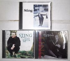 Sting Englishman in New York You Still Touch Me Let You Soul be Your Pilot CD