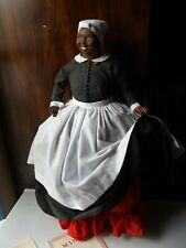 Franklin Mint Porcelain Doll Gone With The Wind Hattie McDaniel With Coa