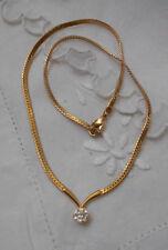 Cubic Zirconia White Gold Vintage & Antique Jewellery