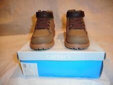 N/W/B  Carter's Toddler Khaki/Brown Boots Size 8