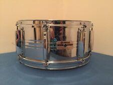 """Yamaha Vintage Steel Snare Drum SD-765MA 1982 6.5x14"""" 7000 Stage Custom Japan"""