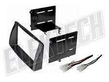 Radio Replacement Dash Mounting Install Kit Double-DIN w/Harness for Toyota
