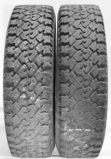 2 18514 Goodyear 185 14 Used Part Worn Tyres x2 Metal Studs Winter Tyres