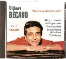 112 // Gilbert BECAUD « Monsieur 100 000 volts » (CD) Vol 2 NEUF