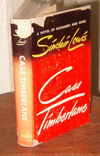 Sinclair Lewis, CASS TIMBERLANE, 1st edition, 1st, excellent condition w. DJ